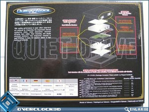 Quiet Drive packaging rear