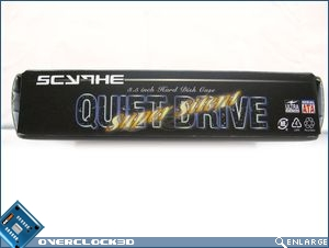 Quiet Drive packaging side
