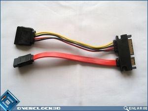 SATA/Power hybrid connector