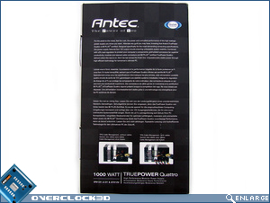 Antec Truepower Quattro 1000w Box Side