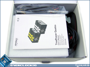 Antec Truepower Quattro 1000w Box Open