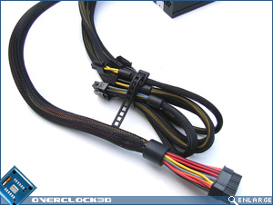 Antec Truepower Quattro 1000w Fixed Cables