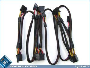 Antec Truepower Quattro 1000w Cables