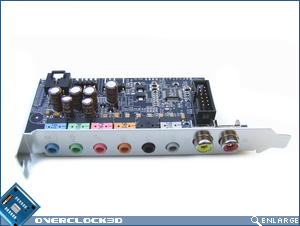 DFI Lanparty LT X38-T2R Sound Card