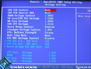 X38-T2R Voltage Settings
