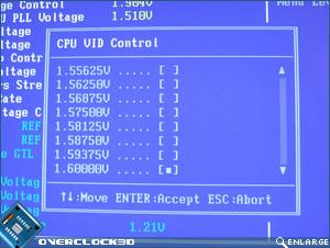 X38-T2R CPU VID Control
