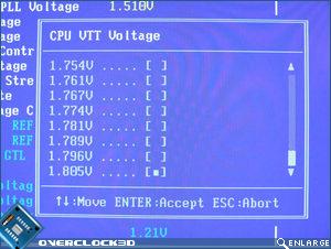 X38-T2R CPU VTT