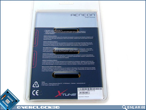 Aeneon Xtune PC3-10600 Packaging