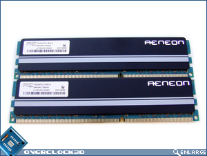Aeneon Xtune PC3-10600 Memory Back