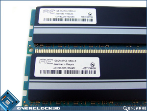 Aeneon Xtune PC3-10600 Specs Sticker