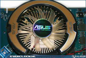 Asus cooler close in