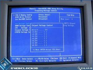 Chipset Voltage Control