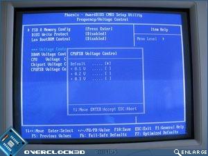 CPU/FSB Voltage Control