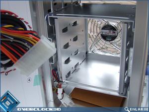 Cooler Master Cosmos S Hard Disk Bay