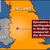 Earthquake tremors felt in the UK