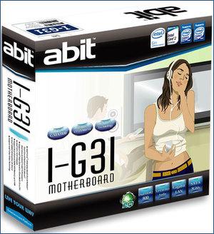 abit I-G31 box
