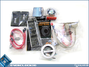 Asus P5E3 Premium Package Contents