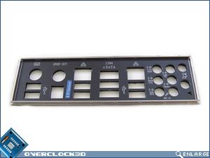Asus P5K3 Premium I/O Plate