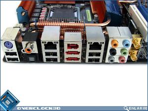 Asus P5E3 Premium I/O Ports