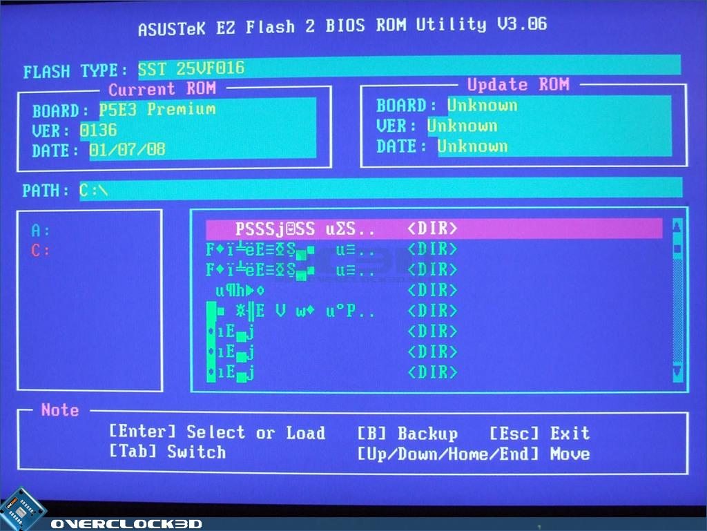 Asus P5E3 Premium X48 DDR3 Motherboard   The BIOS   CPU