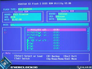 Asus P5E3 Premium BIOS Flash