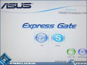 Asus P5E3 Premium Express Gate