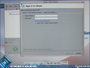 Asus P5E3 Premium Skype