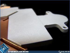 Anodised Aluminium cooling plate