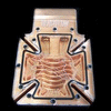 BLAST FLOW Siberian Rev2 Modular VGA WaterBlock