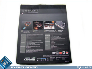 Asus Striker II Extreme Box Back