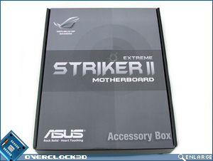 Asus Striker II Extreme Accessories