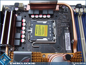 Asus Striker II Extreme Socket Area