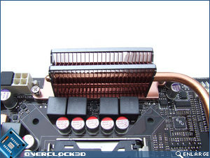 Asus Striker II Extreme Heatsinks