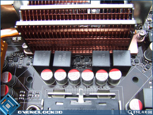 Asus Striker II Extreme Mosfets