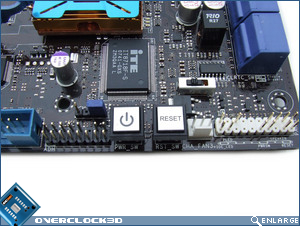 Asus Striker II Extreme Reset Switches