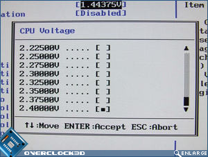 Asus Striker II CPU Voltage
