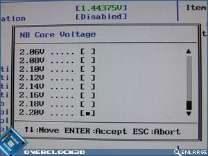 Asus Striker II Extreme NB Voltage