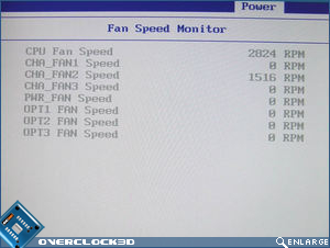 Asus Striker II Extreme Fan Speed