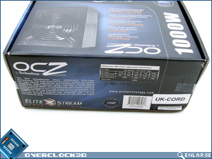 OCZ EliteXstream 1000w Box Side