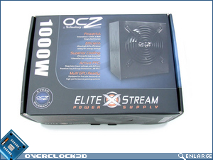OCZ EliteXstream 1000w Box Top
