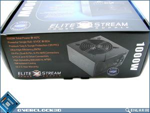 OCZ EliteXstream 1000w Box Side
