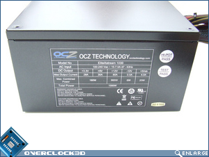 OCZ EliteXStream 1000w Side