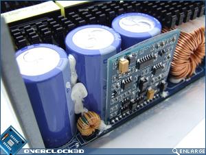 OCZ EliteXStream 1000w Capacitors