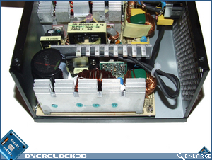 OCZ GameXStream 850w Inside