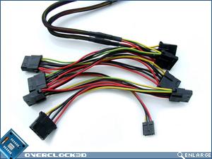 OCZ EliteXStream 1000w PATA Cables