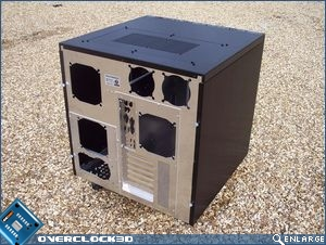 Lian Li PC-343 Rear