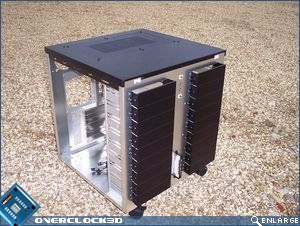 Lian Li PC-343 Front Removed