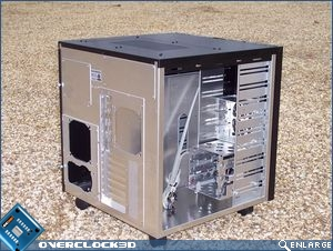 Lian Li PC-343 Back Install