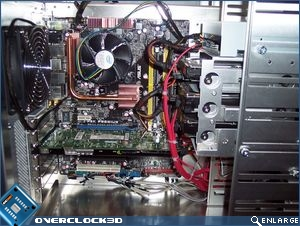 Lian Li PC-343 Fully Installed