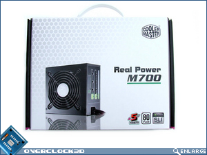 Cooler Master Real Power Pro M700 Box Front